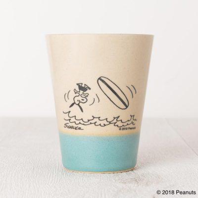 MASHICO タンブラー PEANUTS [Surf] ライトブルー