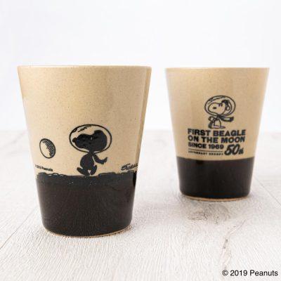 MASHICO タンブラー PEANUTS [MOON] ブラック
