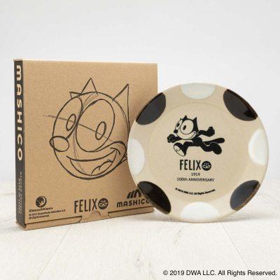 MASHICO プレート17cm FELIX THE CAT [RUN] ブラック/ホワイト