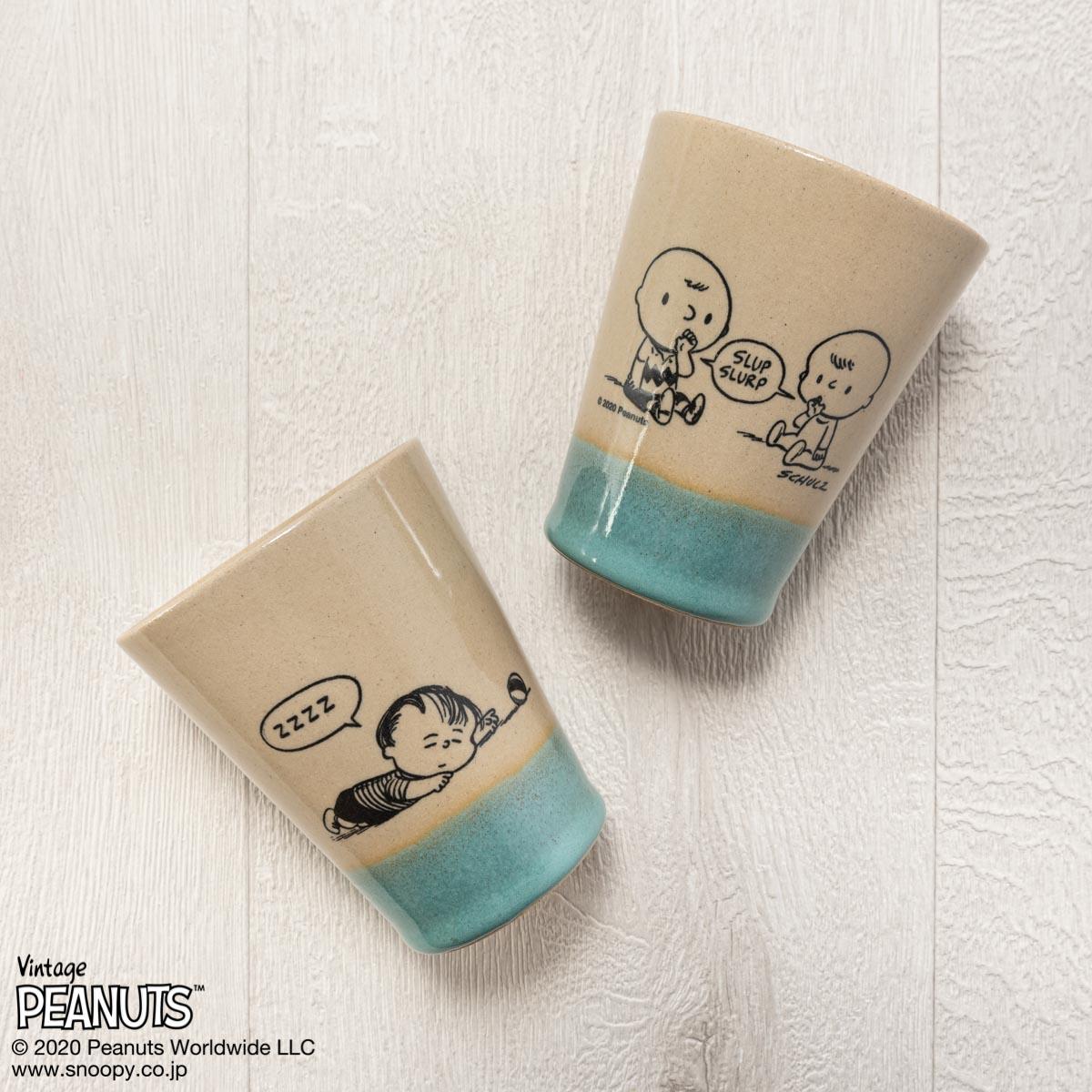 MASHICO タンブラー PEANUTS [Baby] ライトブルー